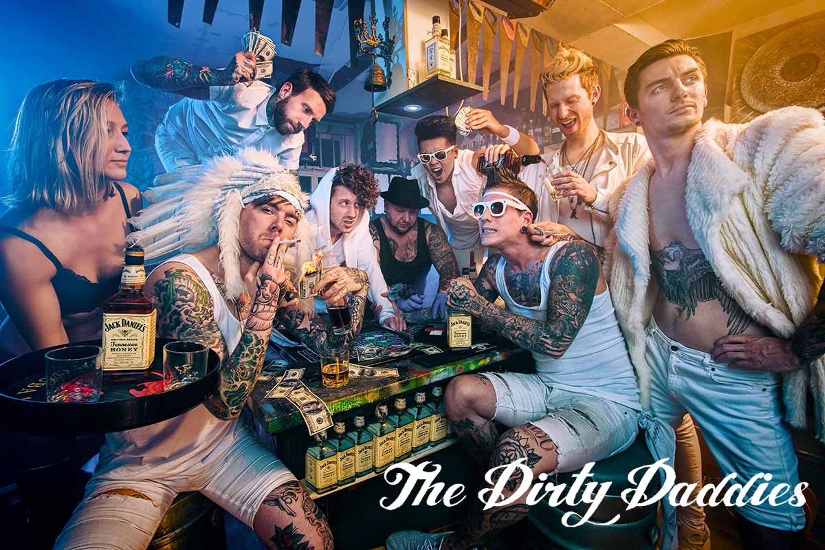 The Dirty Daddies High Energy Cover aus Holland!